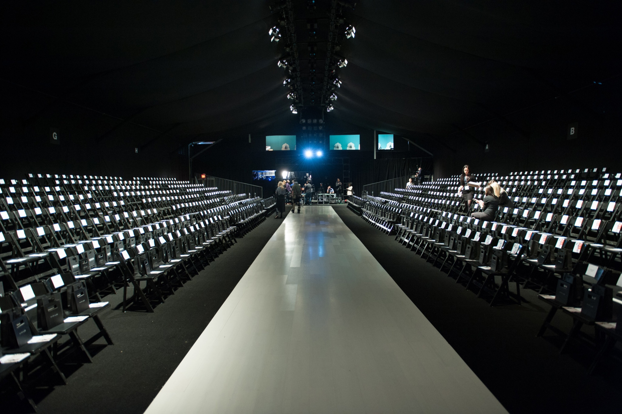 Startup Fashion Week runway
