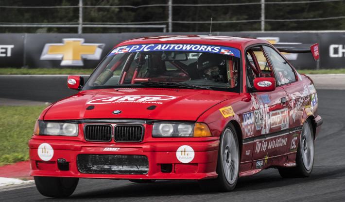 Demi Chalkias Car racing