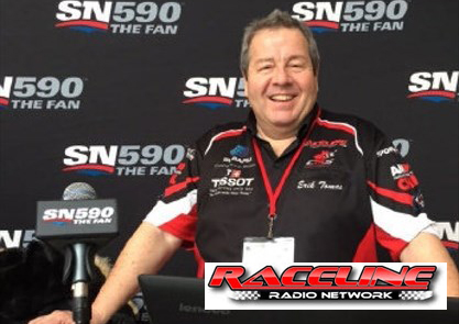 raceline radio interview with Demi Chalkias
